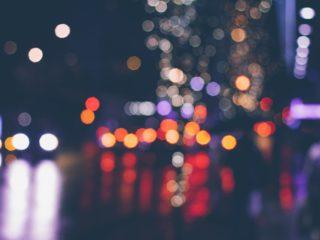 RIDE check blurry night