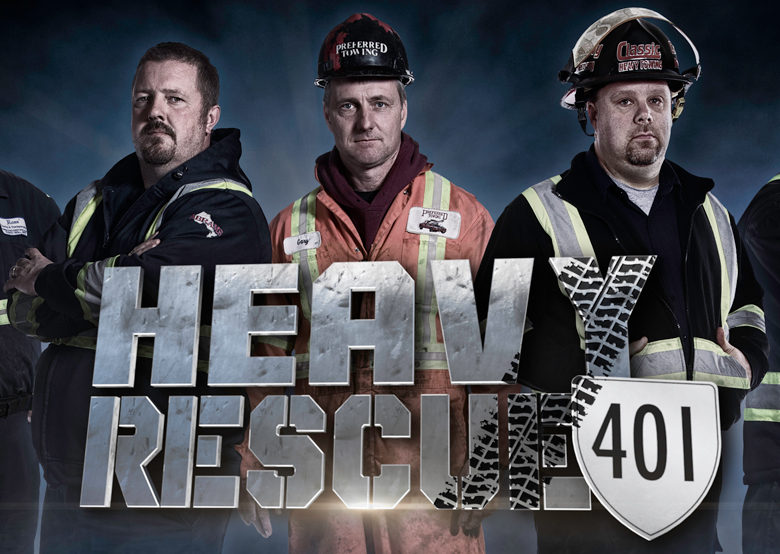 Heavy Rescue 401 poster comp