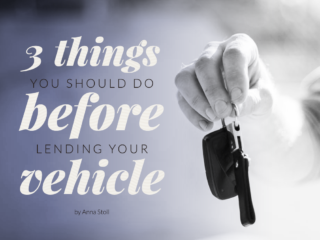 lend your vehicle