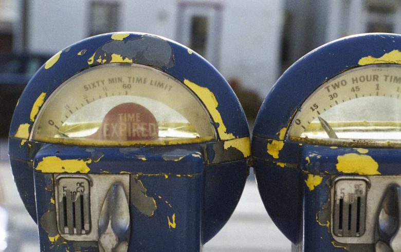 expect parking tickets from this expired meter